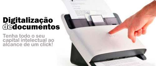 Digitalização de Documentos Preço